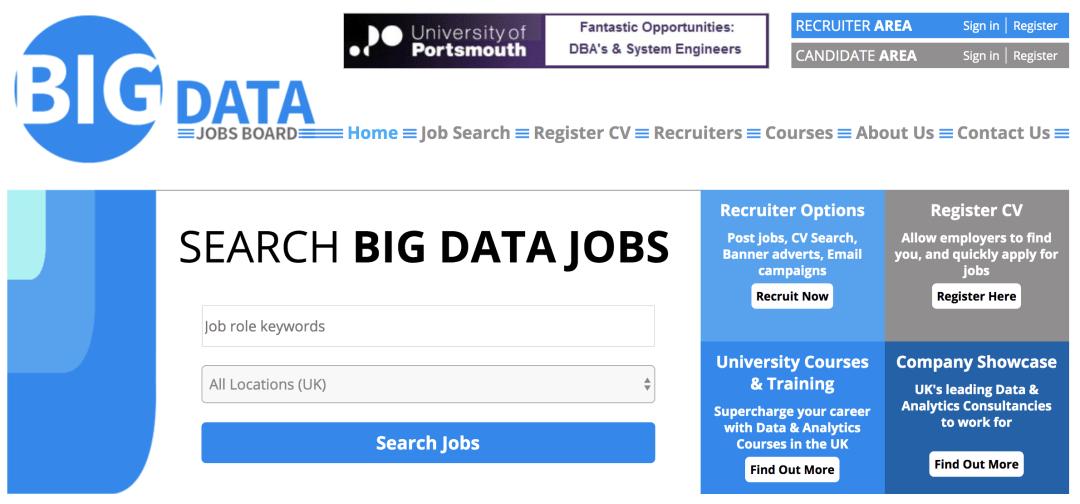 Big Data Jobs Board