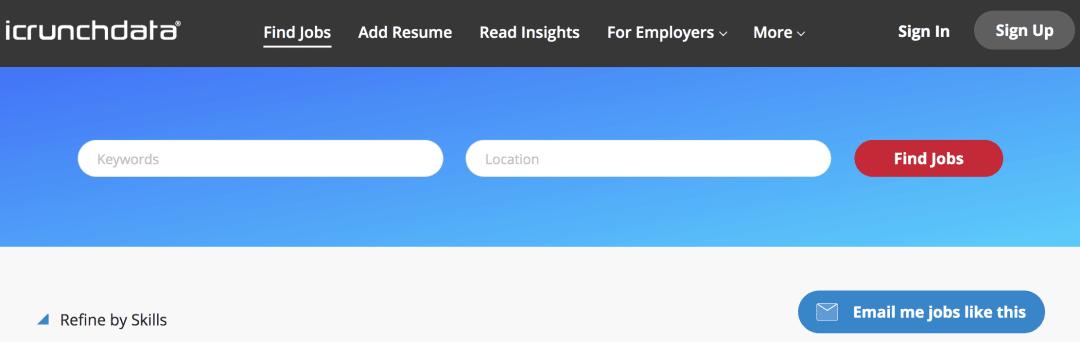 Icrunchdata jobs