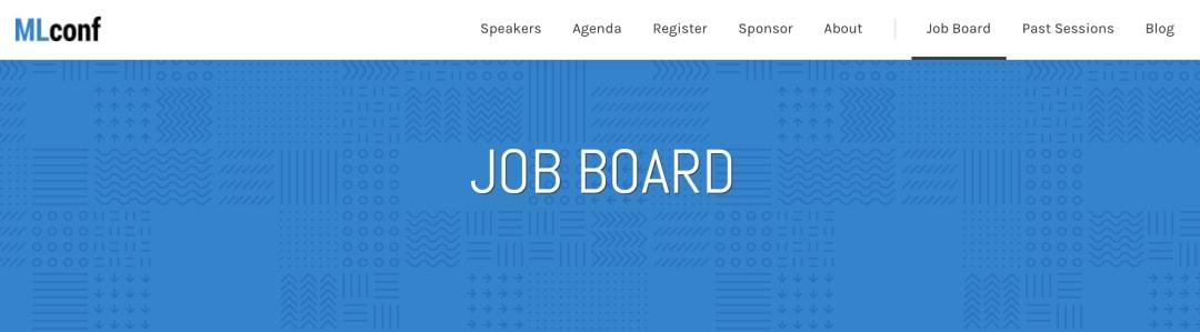 MLconf jobs