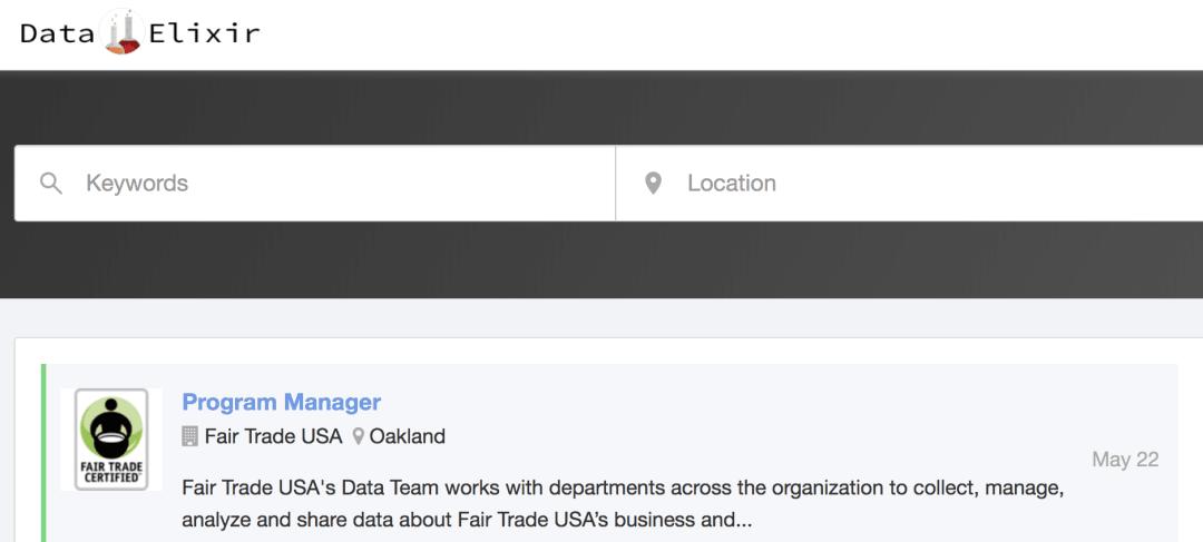 Data Elixir jobs