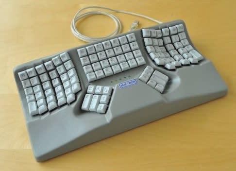 An adaptive keyboard