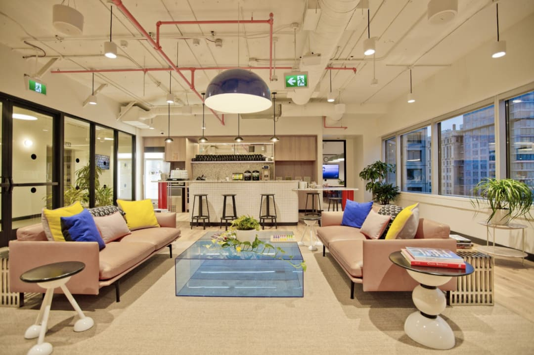 A coworking space in Vancouver
