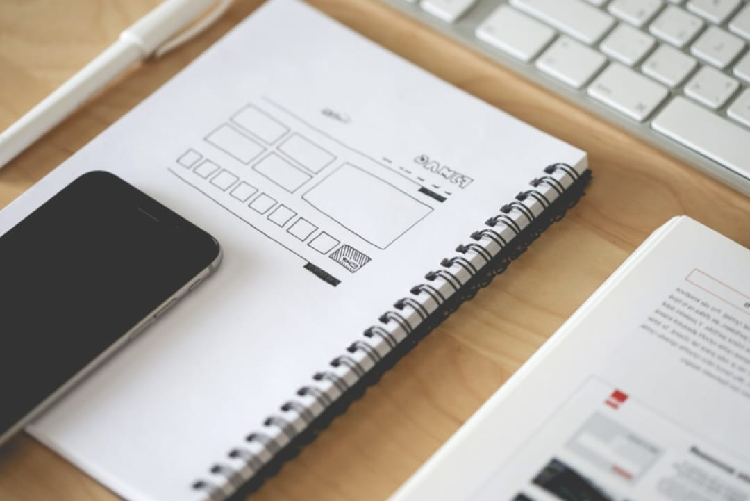 Creating a website design layout