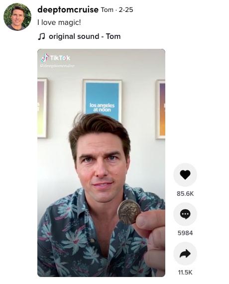 Deepfake Image-to-Image Translation - Tom Cruise