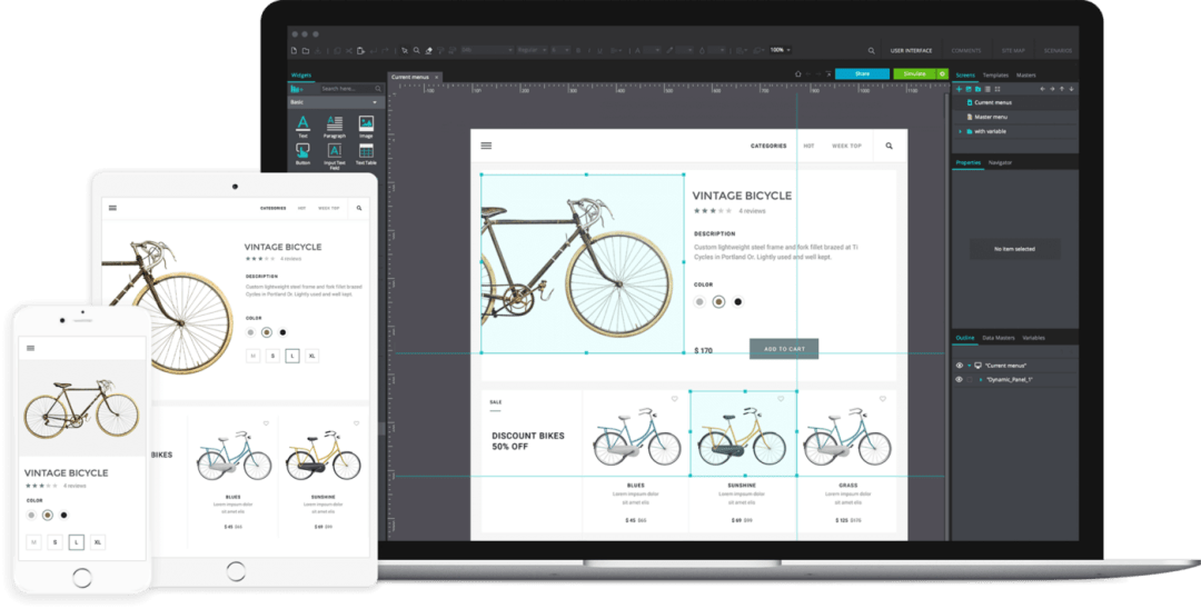 Prototyping Tools - Just in mind