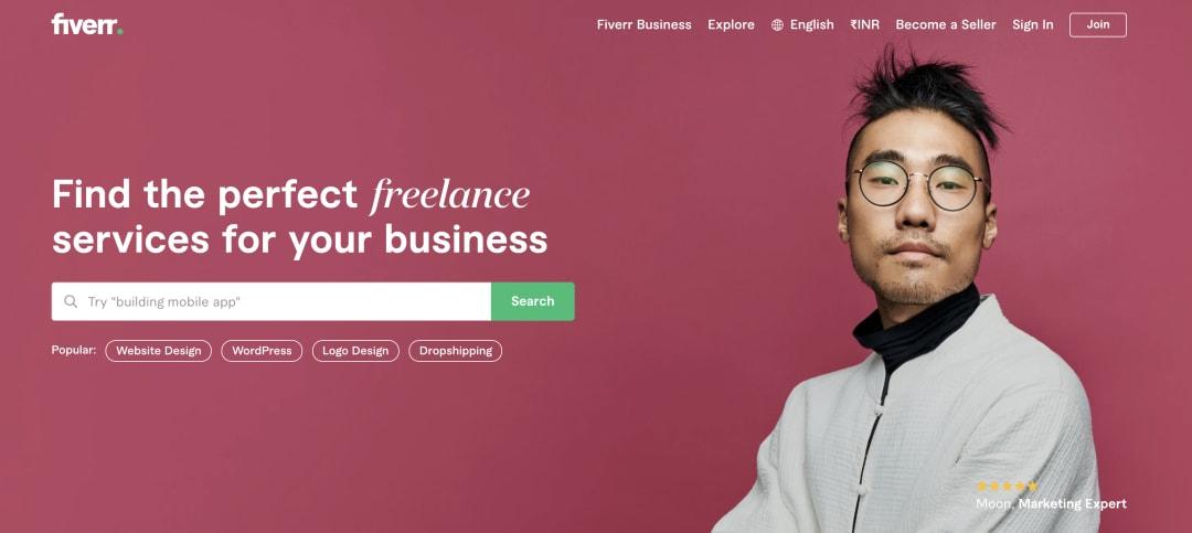 UX Job Boards - Fiverr