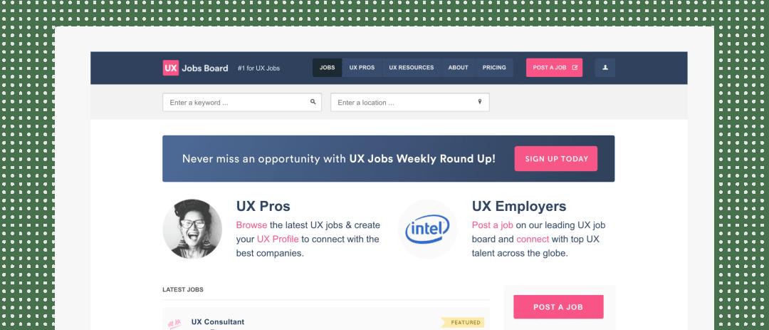 UX Job Boards