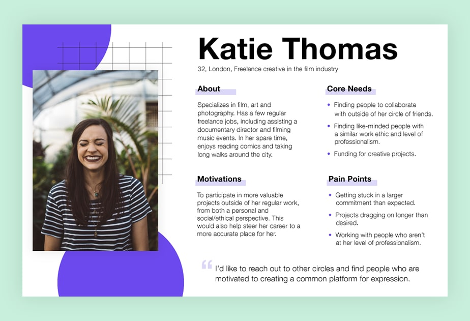 How To Create A Good User Persona in UX Design