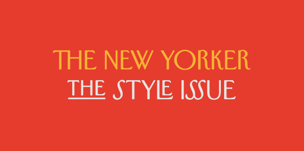 Importance of Typography - The New Yorker's Irvin font
