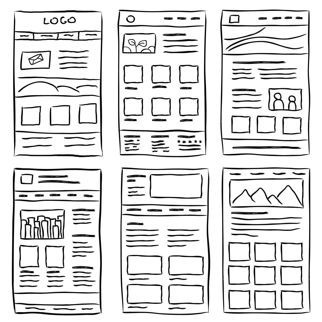 Sketch the layout and features