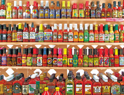 Spicy, Hot! 500 Piece Jigsaw Puzzle