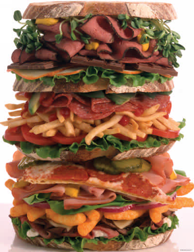 Snack Stack 1000 Piece Jigsaw Puzzle