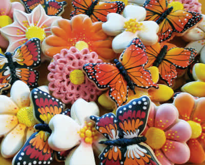Butterfly Cookies 1000 Piece Puzzle