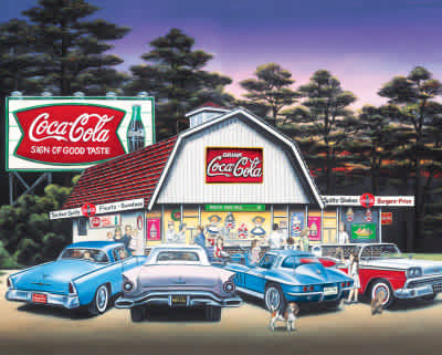 Night on the Town 1500 Piece Jigsaw Puzzle