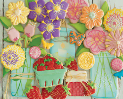 Spring Cookies 500 Piece Jigsaw Puzzle