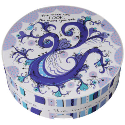 The More You Look - Inspiration Thingies 60 Piece Round Jigsaw Puzzle