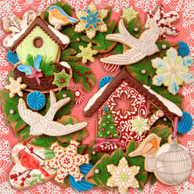Christmas Creations 500 Piece Jigsaw Puzzle