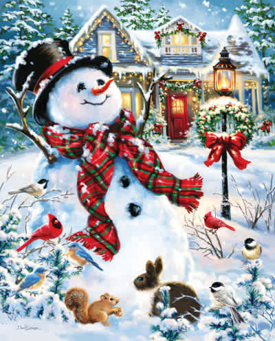 Old Fashioned Holiday 1000 Piece Jigsaw Puzzle