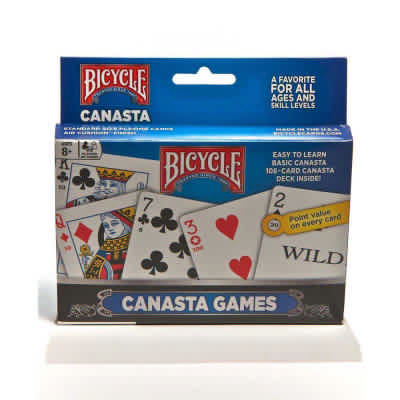 Bicycle Playing Cards Canasta Set Adult Playing Cards Game