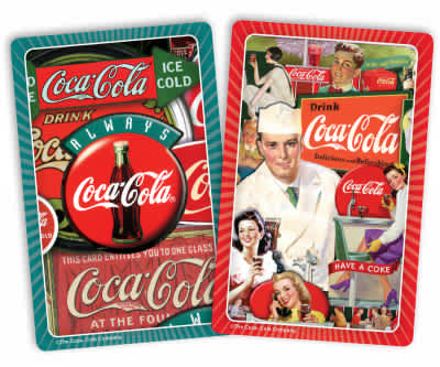 Coca-Cola Classics Standard Index Playing Cards