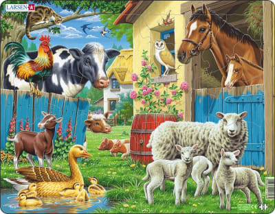 Farm Animals 23 Piece Children's Jigsaw Puzzle