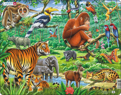 Jungle Animals 20 Piece Children's Jigsaw Puzzle
