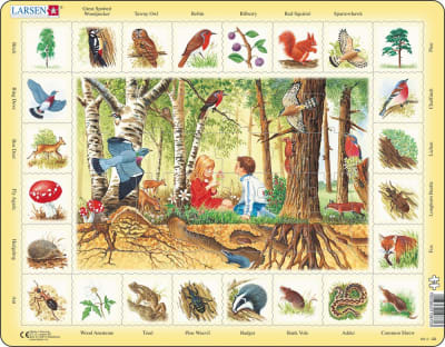 The Forest 48 Piece Children's Educational Jigsaw Puzzle