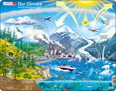 Climate Greenhouse 69 Piece Children's Educational Jigsaw Puzzle