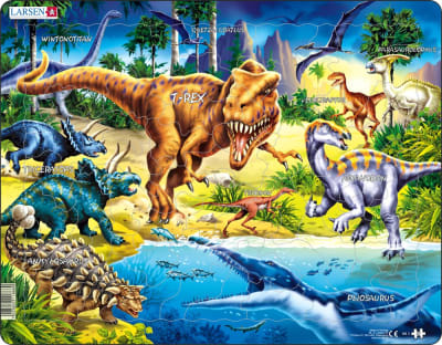 Dinosaurs 57 Piece Children's Jigsaw Puzzle