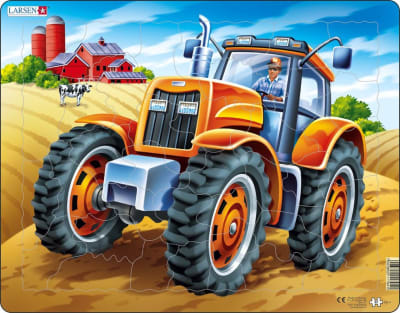 Tractor 37 Piece Children's Jigsaw Puzzle