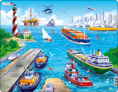 Harbor 35 Piece Children's Jigsaw Puzzle