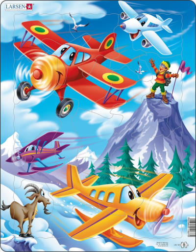 Airplane 20 Piece Children's Jigsaw Puzzle