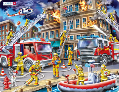 Firefighters 45 Piece Children's Jigsaw Puzzle