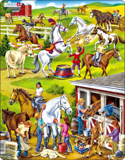 Horse 50 Piece Children's Jigsaw Puzzle