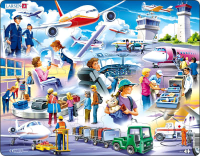 Airport 42 Piece Children's Jigsaw Puzzle