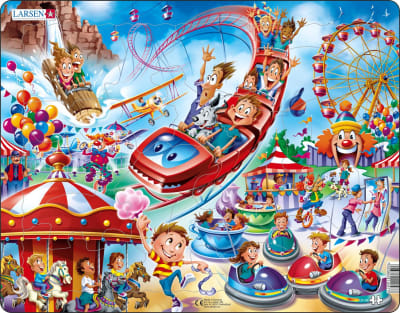 Amusement Park 17 Piece Children's Jigsaw Puzzle