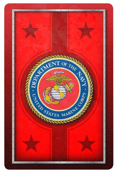 Marine Corps Standard Index Playing Card Set