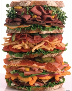 Snack Stack 120 Piece Jigsaw Puzzle