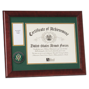 U.S. Army Medallion 8-Inch by 10-Inch Certificate and Medal Frame