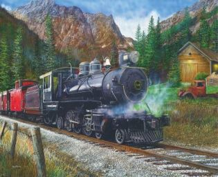 Timber Pass 1000 Piece Jigsaw Puzzle