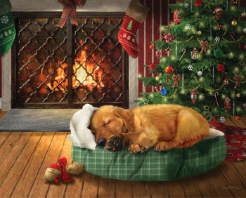 Christmas Wishes 120 Piece Jigsaw Puzzle
