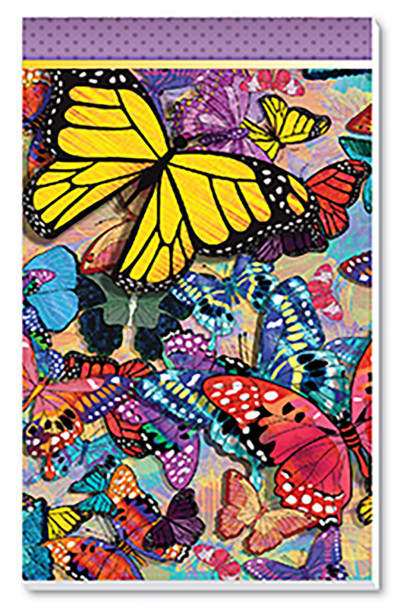 Butterfly Frenzy Score Pads Playing Cards Accessory