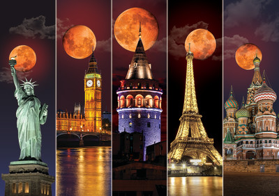 Blood Moon 1500 Piece Jigsaw Puzzle