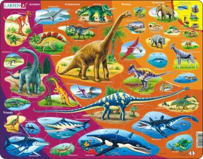 Nature History Children's Educational 85 Piece Jigsaw Puzzle