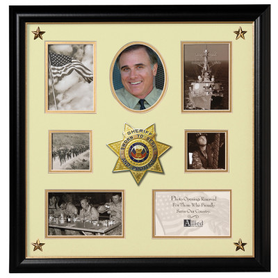 16X17 SHERIFF COLLAGE FRAME