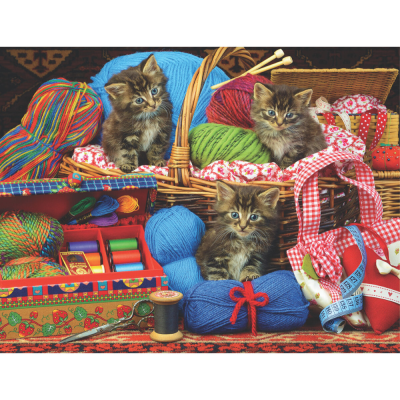 Sew Cute 500 Piece Jigsaw Puzzle