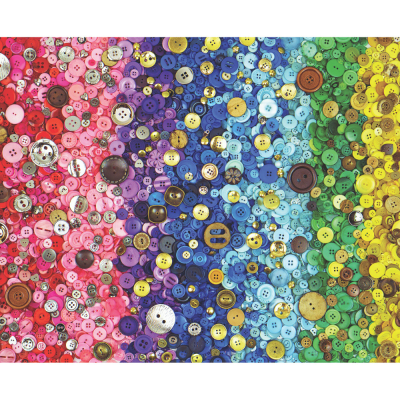 Bunches of Buttons 1000 Piece Jigsaw Puzzle