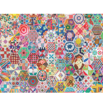Crazy Quilts 500 Piece Jigsaw Puzzle