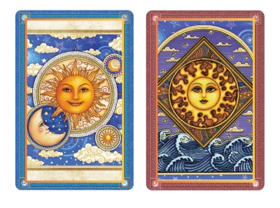 Sun and Moon Duet Standard Index Playing Cards