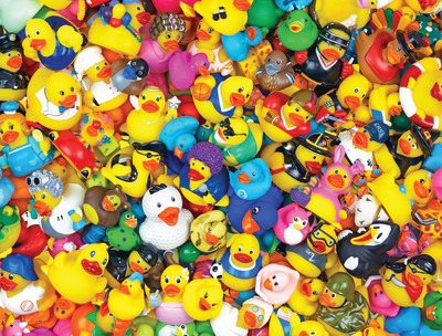 New! Funny Duckies 400 Piece Jigsaw Puzzle